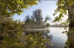 Autumn Morning near Shiplake College (rogermccallum) Tags: autumn fall thames river frame framing shiplake platinumheartaward