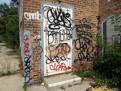 (gordon gekkoh) Tags: graffiti detroit chub spot skid ykk dms