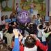 Pongo is visiting schools