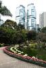 Hong Kong Park and twin towers of Lippo Centre in Hong Kong S.A.R., China (transitpeople) Tags: hongkong lippocentre hongkongpark