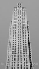 30 Rockefeller Center (Comcast Building), New York City (jag9889) Tags: 2016 20160624 architecture bw blackandwhite building house landmark monochrome outdoor rockefellercenter skyscraper topoftherock jag9889 newyork unitedstates