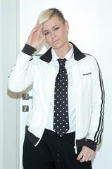Marta Wiśniewska 1 (drno_manchuria (simonsaw)) Tags: model moda tie gravata corbata necktie shirt camisa vest pantalones chaleco knot nudo menswear tomboy encorbada suitup collar martawiśniewska dancer bailarina sidecut kravata krawat krawatta pants