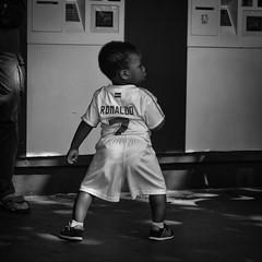 Ronaldo par l... (Mich2956) Tags: stadedefrance euro2016 paris football gens people portrait blackandwhite