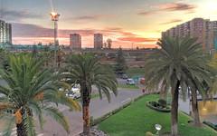 Palms (ECOgarf!) Tags: urbanity modernity architecture santiago metro chile