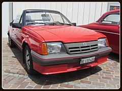 Opel Ascona C Convertible (v8dub) Tags: opel ascona c convertible cabriolet cabrio schweiz suisse switzerland german pkw voiture car auto automobile automotive youngtimer old oldtimer oldcar klassik classic collector worldcars