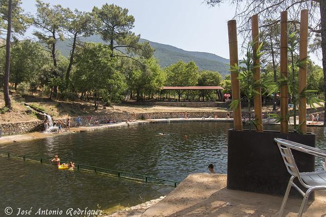 Charca de la presa La Pinara (La Adrada)