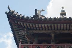 A part of Suh-fuku-ji gate (White_Dragon_09) Tags: bauschlomb baltar 7523