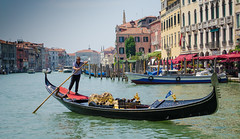 Venice (meganmccauley14) Tags: venice canal grand gondolier