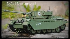 COBI Centurion I (Kobikowski) Tags: set toy model tank lego ww2 british cobi centurion zestaw klocki czog zabawka