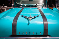 The Pontiac - Jumeirah, Dubai - Leica M9-P (Sparks_157) Tags: 35mmf2summicron alwasl amit beachroaddubai beachroadmagazine boxpark dubai leica leicam9 pontiac uae amitkar bonnet classiccar hood jumeirah life m9p ornament people rangefinder restaurant car