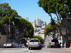 San Francisco (FRAUSCHNERT) Tags: sanfrancisco strasen verkehr wolkenkratzer architektur pflanzenkalifornien rundreise mietwagen hitzewelle sommer reisen abenteuer urlaub usa amerika