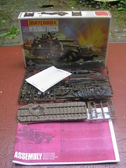 Matchbox Kit (streamer020nl) Tags: matchbox plastic kit 1970s halftrack usa england lesney ww2 m16 pk78 army vehicle