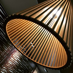 Lamp Shade (Michael Butterworth Photographer) Tags: wood abstract lamp