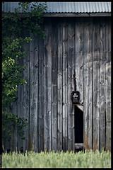 Barn Wall (Mika Latokartano) Tags: barn agriculture oldbuilding farm greywood grey eos6d ef70200mmf4lisusm