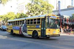Vice Principals (So Cal Metro) Tags: comiccon comiccon2016 sandiego thomas saftliner bus schoolbus hbo viceprincipals ad promotion marketing