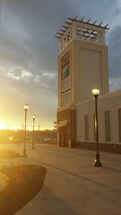 Tanger Tower at Sunset (Retail Retell) Tags: tanger outlets southaven ms desoto county retail memphis outdoor mall church road airways boulevard i55