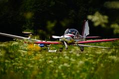 F-Schlepp (Roland Henz) Tags: unterwssen 2016 23072016 hangarparty flyin flugschule fschlepp ul eurostar k6 schleppzug natur grn