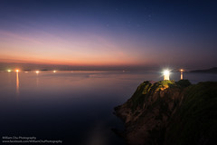 Cape D'Aguilar, Hong Kong (William C. Y. Chu) Tags: capedaguilar hongkong  lighthouse sunrise dawn seascape seaside cliff shore landscape