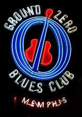 Ground Zero Blues Club (Thomas Hawk) Tags: groundzerobluesclub memphis tennessee usa unitedstates unitedstatesofamerica guitar neon