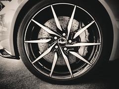 DB10 - wheel rim (camerito) Tags: felge rim wheel bremsscheibe brake bremssattel fender wing aston martin db10 camerito nikon1 j4 flickr