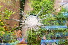 Broken glass . (CyberDEL1) Tags: samsungnx500 samsungnx30mmf2pancake thessaloniki  brokenglass  greece hellas   macedonia macedoniagreece macedoniatimeless