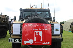 Snatch landrover (Badger emergency) Tags: snatch landrover defender iraq vehicles stay back 100 metres or you will be shot