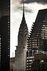 In Between (Flipped Out) Tags: newyorknewyork midtownmanhattan chryslerbuilding rooseveltisland