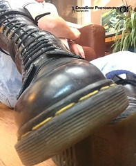 Skinhead Dr Marten Boots (Scally Skin - Love skins Love Scally) Tags: levis501 14holedrmaterns skinhead boots bootsandbraces dr marten levis 501s skinheadbleachers bluebraces skinheadbraces skinheadgear skinheadboots