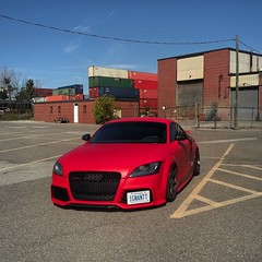 Repost From Instagram (ignantt) Tags: car cars audi tt ttrs airsuspension airlift airride wheels vossen vossens fast turbo low lowered stance stanced