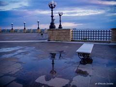 Sunset Rain (NIKOZAR (Nicola Zaratta)) Tags: olympusxz1 tramonto pioggia lungomare taranto puglia