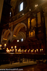 St Paul's Cathedral night opening (www.kevinoakhill.com) Tags: st pauls cathedral night opening london domino dominoes rally breeze block blocks city whispering gallery lord horatio nelson christopher wren beautiful amazing wonderful candle candlelight candlelit photo photos photography professional open house great fire anniversary weekend september 2016
