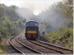 D182 (46045) on 2M50, Longueville Junction, October 15th 2016 (Bristol RE) Tags: d182 182 46045 46 class46 nvr nenevalleyrailway longuevillejunction peak