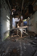 Lakeside Hospital for the Incurables (EsseXploreR) Tags: abandoned lakeside hospital for incurables