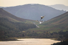 Gripen Incoming! (benstaceyphotography) Tags: leeming saab gripen jas39d 39829 211 fighter squadron f21 norrbotten wing lulea lulealallax swedish air force saf lfa17 lowfly avscape aviation military fast jet valley flying flygvapnet thirlmere reservoir lake district cumbria nikon