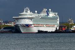 Ventura (Hythe Eye) Tags: hampshire southamptonwater ventura cruiseship