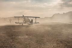 Dusty (camerue) Tags: aircraft oldplane nature landscape autumn dust plane air