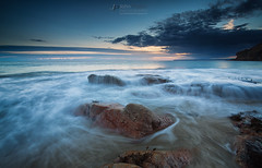 Rinsey rocks (T_J_P) Tags: cornwall rinsey rocks sea ocean coast coastal rugged beach sand cove sunset clouds sky colour nature