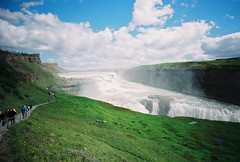 Gullfoss falls (jaksonroutledge) Tags: 35mm 35mmfilm adventure analog analogvibe analogfilm buyfilmnotmegapixels documentary documentaryphotography editorial exploring film filmphoto filmphotography filmcommunity filmisnotdead find fineart fujifilm gullfoss gullfossfalls ishootfilm nature travel traveling trekking waterfall