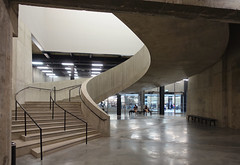 Tate Modern, Switch House 9, London by Herzog & Meuron (Iqbal Aalam) Tags: herzogdemeuron tatemodern artgallery competitionwinner oldpowerstation oldoiltanks switchhouse bankside banksidepowerstation circularstairs herzogmeuron