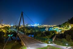 _DSC2734-HDR2 (Miguel A. Quints V.) Tags: pasarela puentecolgante puente bridge cuidad city lugo rio ro river mio terrasdomio clubfluviallugo d810 afs2470f28g hdr