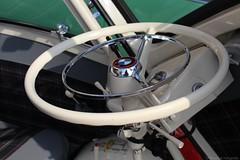 1959 - BMW Isetta 300 - DZ-18-28 -7 (Oldtimers en Fotografie) Tags: 1959bmwisetta300 bmwisetta300 bmwisetta bmw isetta dz1828 midlandclassicshow2016 midlandclassic2016 midlandclassicshow midlandclassic almere oldcars bubblecars classiccars germancars oldtimers oldtimer fransverschuren oldtimersfotografie fotograaffransverschuren cardetail steeringwheel interior interieur