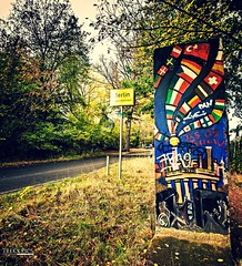 Berlin Wall (trekkpics) Tags: berlin buch bucher forst wald see travel reise urlaub holiday tiere outdoor heiter himmel wasser sonnenuntergang sunset colourartaward wall berliner mauer brandenburg mauerweg canon eos sony