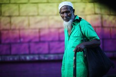 It's not always about colours (N A Y E E M) Tags: oldman beggar vagabond candid portrait afternoon street colors shishupark chittagong bangladesh carwindow