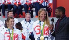Hannah Mills and Saskia Clark (Suede Bicycle) Tags: olympics rio rioolympics rio2016 olympicgames heroeswelcome trafalgarsquare summerolympics olympicparade paralympics rioparalympics