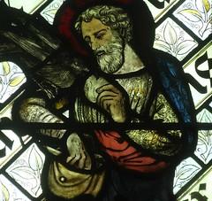 [45613] St Editha, Tamworth : Elias (Budby) Tags: tamworth staffordshire church window stainedglass preraphaelite