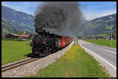 Zillertalbahn 4, Mayrhofen, 14-08-2011 (Sander Zwoferink) Tags: zillertalbahn4 mayrhofen 14082011 zillertalbahn zillertal tirol oostenrijk dampf stoom ketel