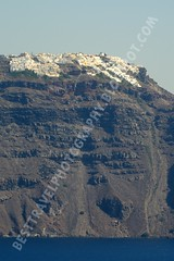 Oia sobre el acantilado, Santorini (Travel around Spain) Tags: santorini oia grecia acantilados casas mar mediterraneo