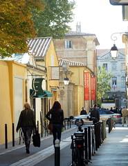 Cultural centre.... Caumont Centre D'Art..... (Sue - happy sparrow) Tags: street france aixenprovence streetscene caumontcentredart people chic