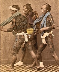 Bettoes running ca1865 (SSAVE w/ over 6 MILLION views THX) Tags: japan ca1870 lifestyle domesticscenes japanesepeople fundoshi bettoes horsegrooms