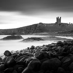 broken stones (dave_harrison56) Tags: dunstanburgh castle northumberland longexposure verylongexposure seastones rocks ruins outdoors leefilters bigstopper ndgrads canond70 canon24105